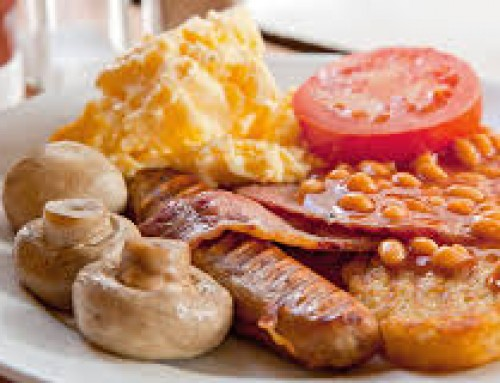 Breakfast available from 8am everyday of the week