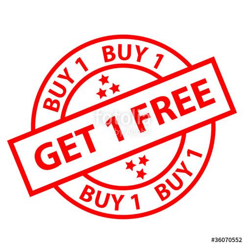 Buy One Get One Free: Buy One GET One FREE!!!!!!!!!!!!!