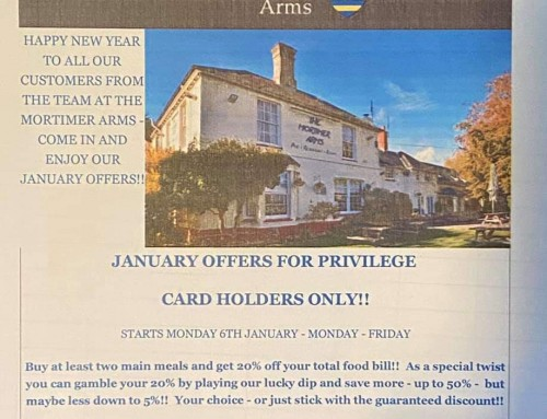 January Privilege Card Holder Offer